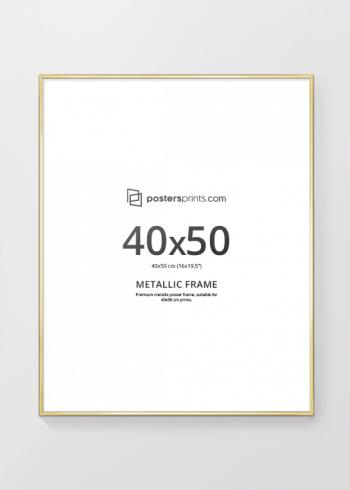 GULLRAMME, 40x50