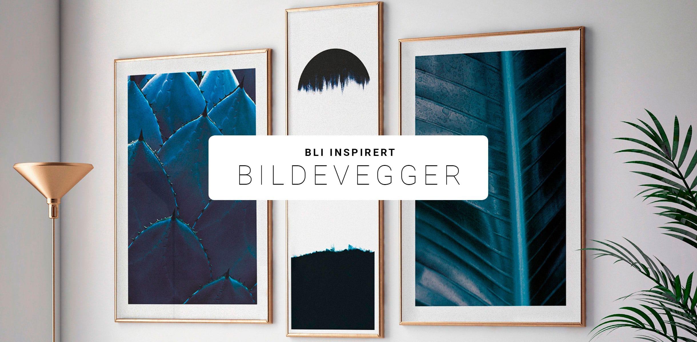 Bli inspirert! Kjøp din bildevegg nå.