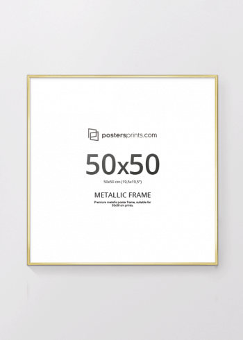 GULLRAMME, 50x50