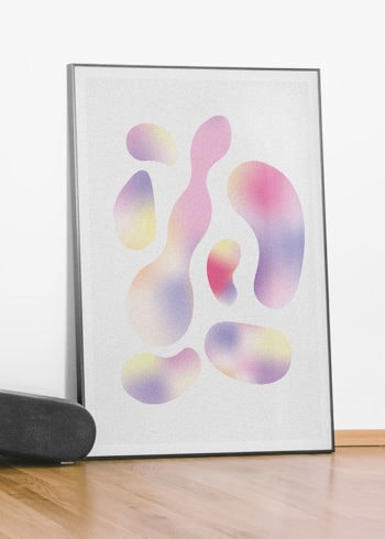 PASTEL PUDDLES POSTER